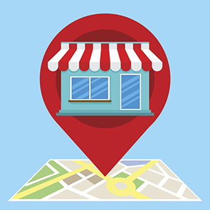 Local SEO Map and Pin