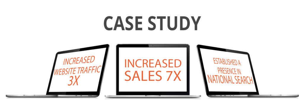 Case Study: Increasing Sales 7X with National SEO | Nation Wide SEO
