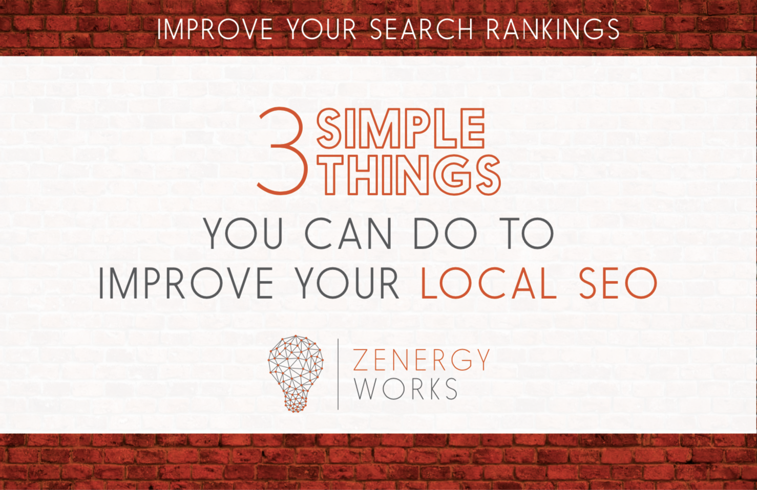 3 Simple Things You Can Do to Improve Your Local SEO
